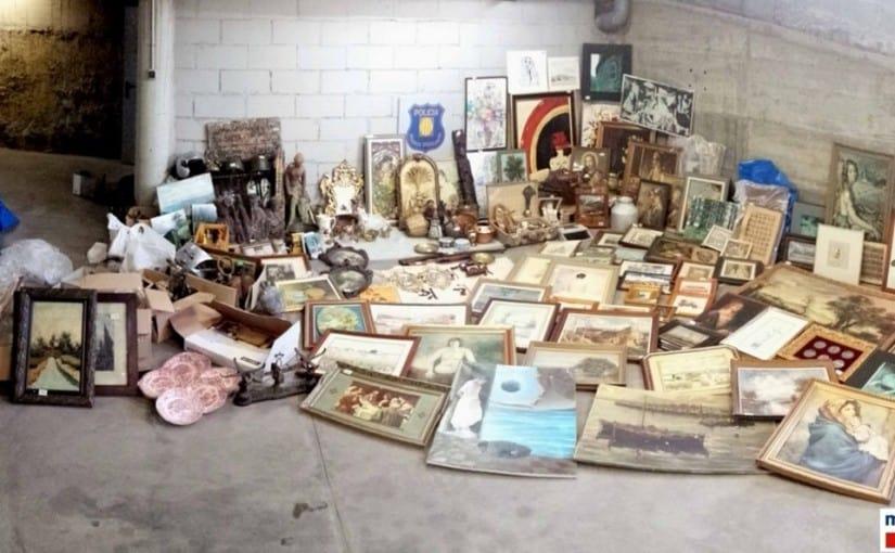 Robos de cuadros: Compra venta de antigüedades Barcelona