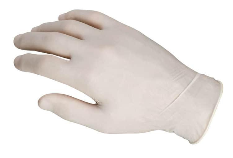 ¿Por qué debemos utilizar guantes de Látex?