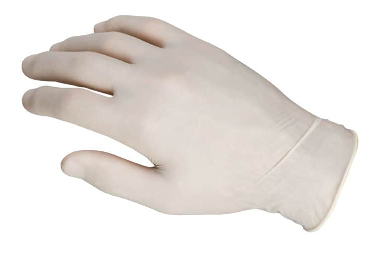 guantes latex