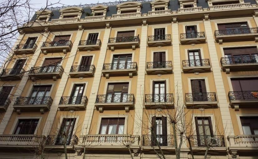 La situación de la rehabilitación de edificios en Barcelona