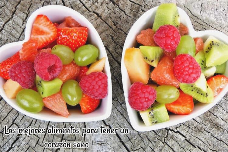 Los mejores alimentos para tener un corazón sano