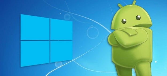 Dispositivo Android y Windows son totalmente compatibles