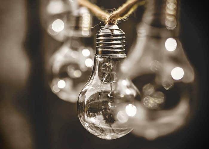 regalos ecologicos como bombillas que gastan muy poco